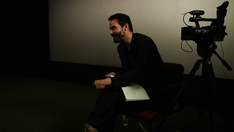 Side by Side: Keanu Reeves in una scena del documentario