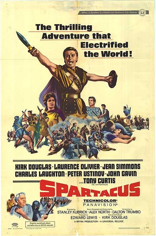 Spartacus, locandina del film