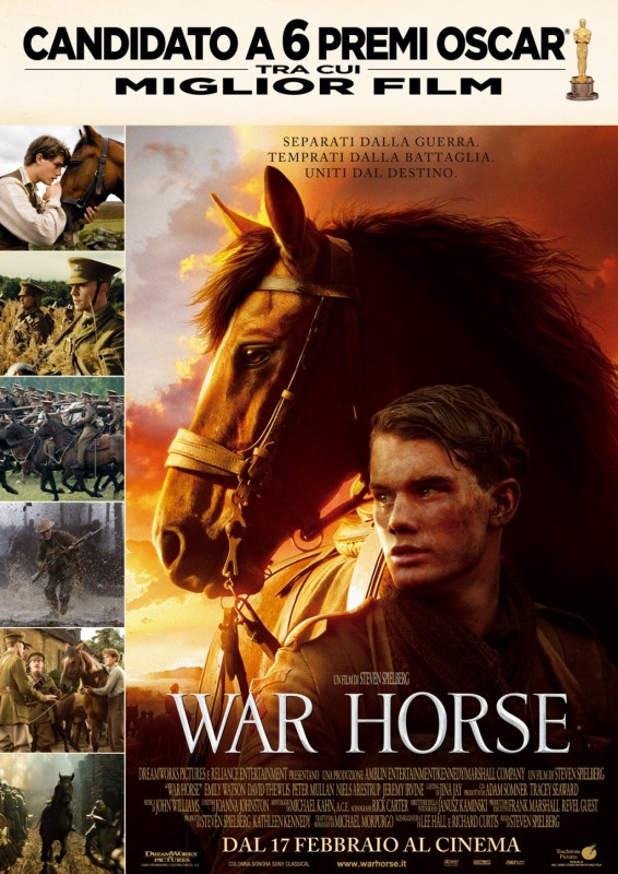War Horse: la locandina italiana del film
