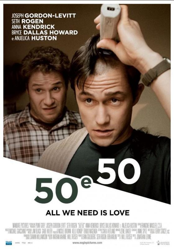 50 e 50: ecco la locandina italiana