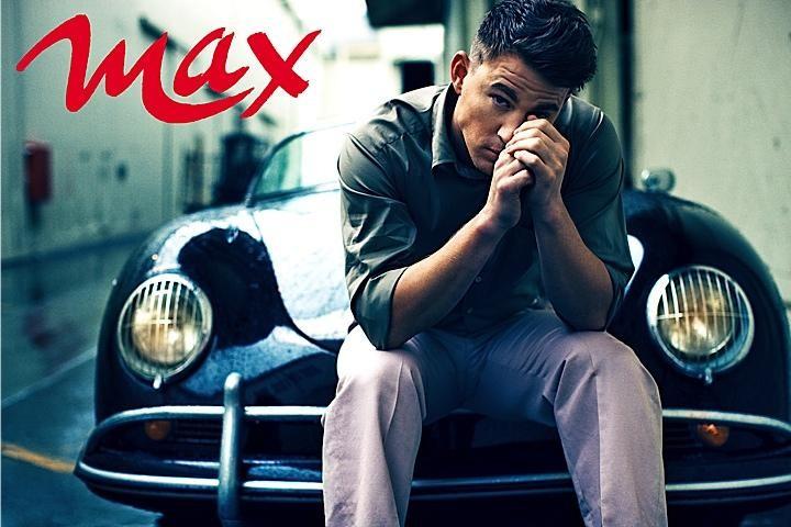 Channing Tatum sul magazine Max di febbraio 2012