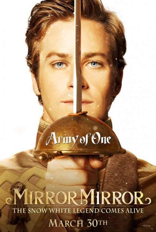 Mirror, Mirror: Character Poster per Armie Hammer