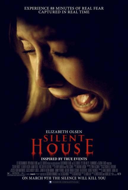 Silent House: ecco l'angosciante locandina