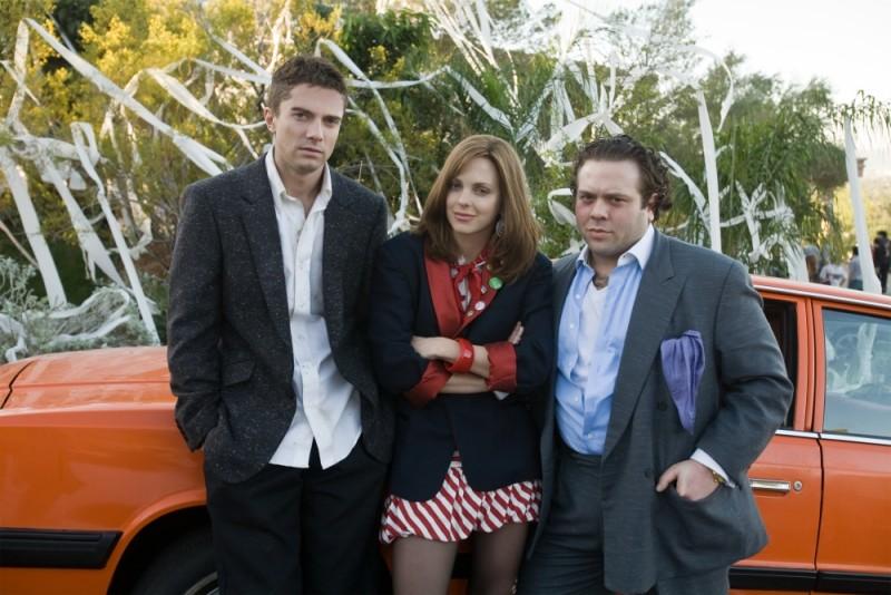 Topher Grace, Dan Fogler e Anna Faris in una foto promozionale di Take Me Home Tonight