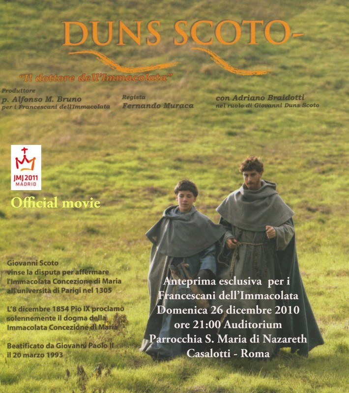 Una immagine promozionale per Duns Scoto