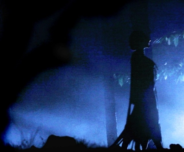 Una scena del thriller-horror Native