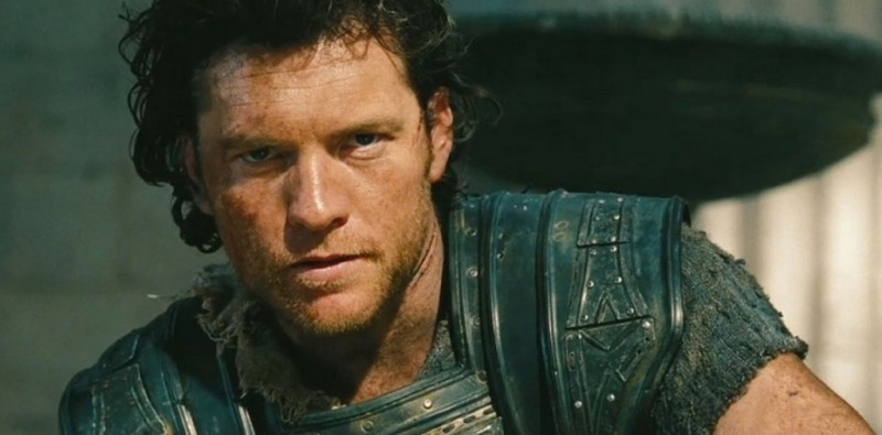 Wrath of the Titans: Sam Worthington è Perseo in una scena del film