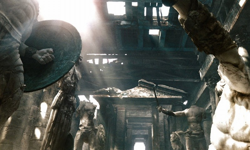 Wrath of the Titans: una scena tratta dal film