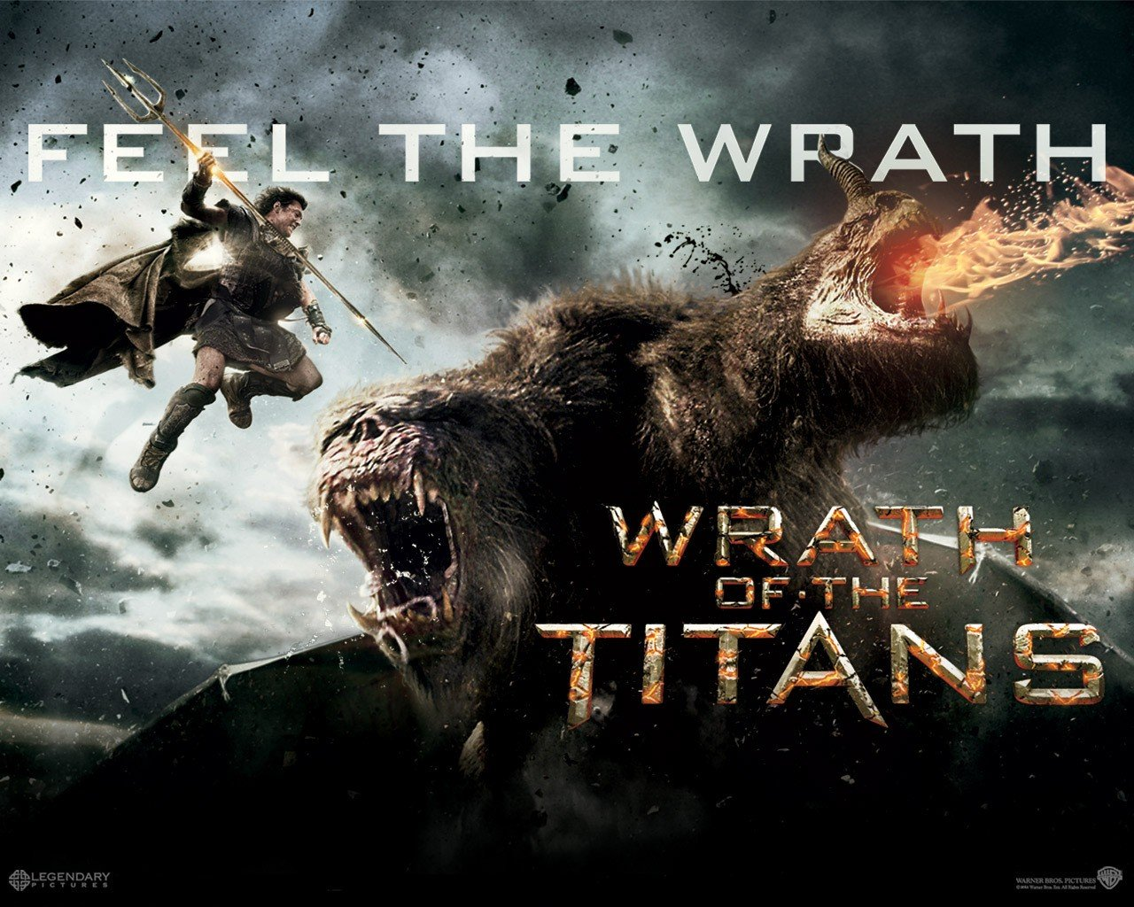 Wrath of the Titans: uno dei bellissimi wallpaper del film