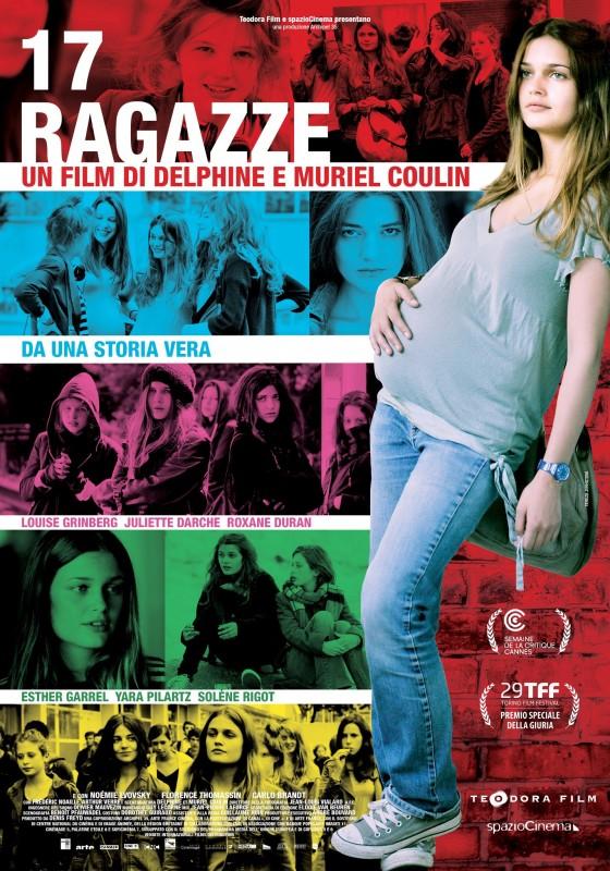 17 ragazze: la locandina italiana del film