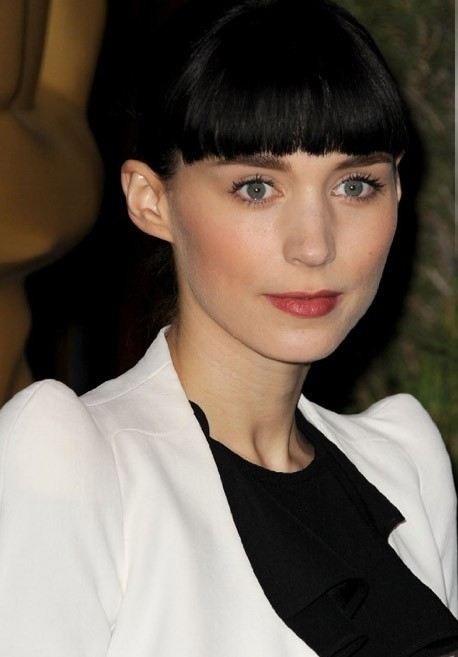 Academy Awards 2012: la candidata all'Oscar come Migliore attrice protagonista Rooney Mara