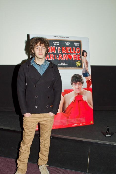 Alessandro Sperduti alla presentazione stampa di Come è bello far l'amore.