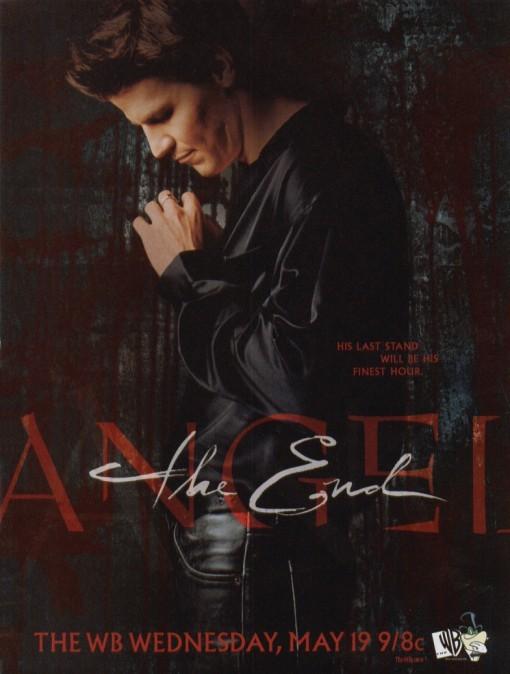 Angel: un poster dell'ultima stagione della serie