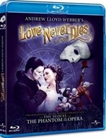 La copertina di Love Never Dies (blu-ray)