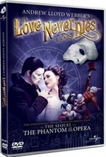 La copertina di Love Never Dies (dvd)