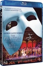 La copertina di The Phantom of the Opera alla Royal Albert Hall - 25° Anniversario (blu-ray)