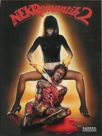 Nekromantik 2: la locandina del film