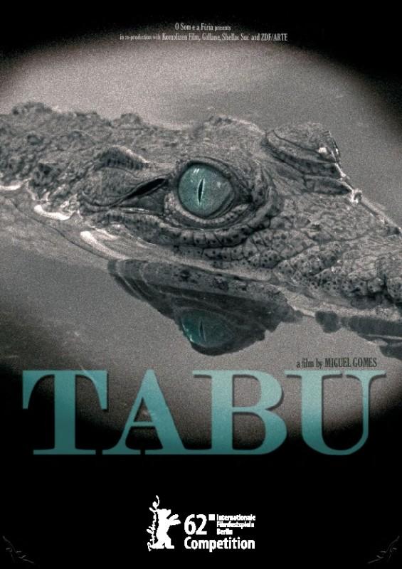Tabu: il poster del film