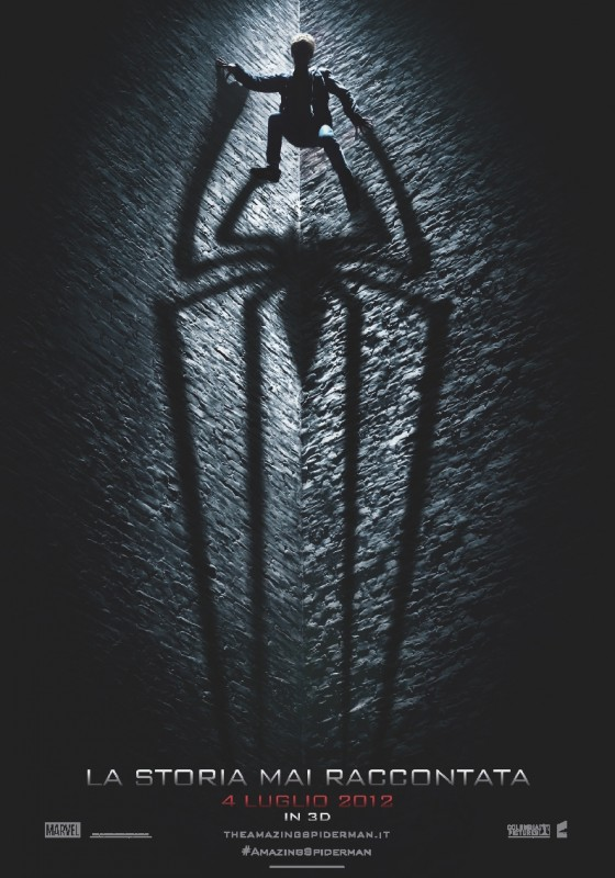 The Amazing Spider-Man: il teaser poster italiano