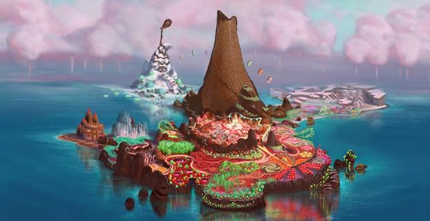 Wreck-It Ralph: ecco un coloratissimo panorama