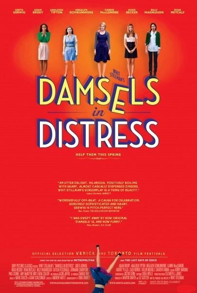 Damsels in Distress: ecco la nuova colorata locandina