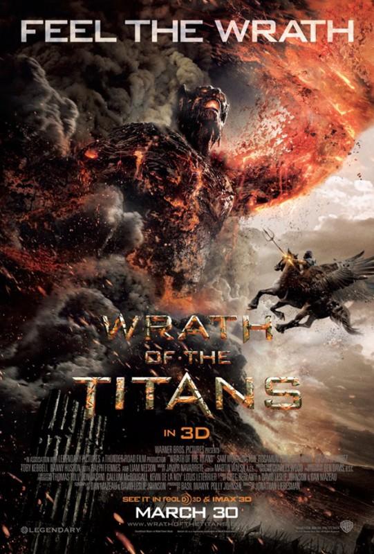 La furia dei titani: nuovo spettacolare poster