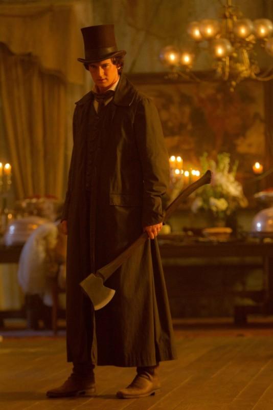 Benjamin Walker in una scena de La leggenda del cacciatore di vampiri