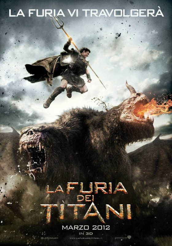 Wrath of the Titans: la locandina italiana del film