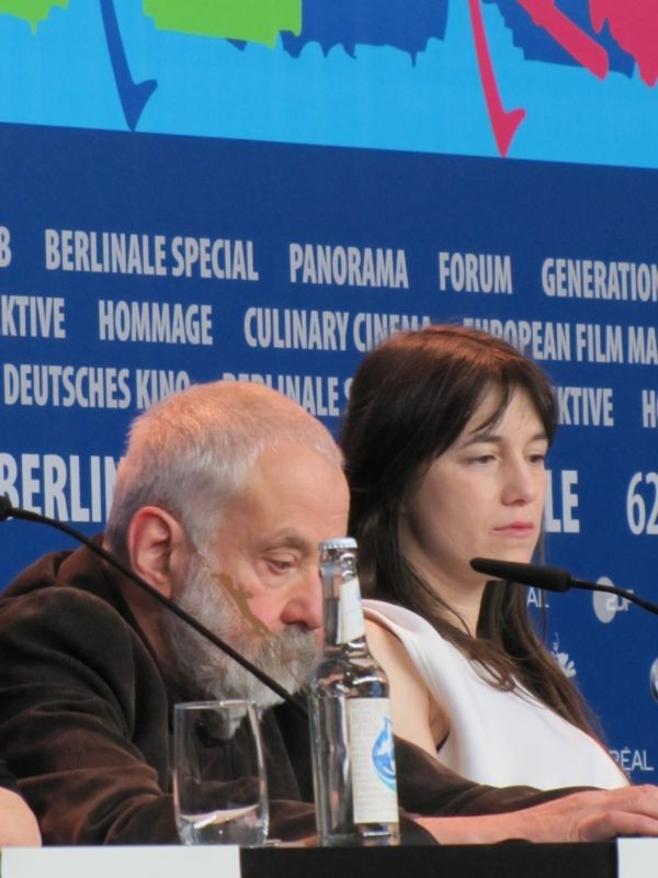 Berlinale 2012: Charlotte Gainsbourg con Mike Leigh