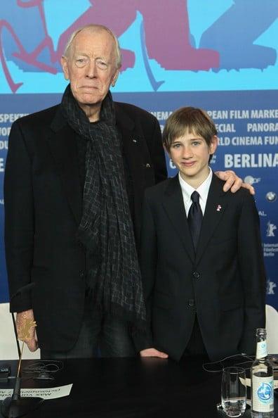 Berlinale 2012: Max von Sydow presenta 'Molto forte, incredibilmente vicino' con Thomas Horn