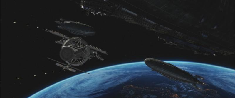 Iron Sky, una scena del film sci-fi di Timo Vorensuola