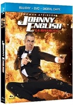 La copertina di Johnny English - La rinascita (blu-ray)