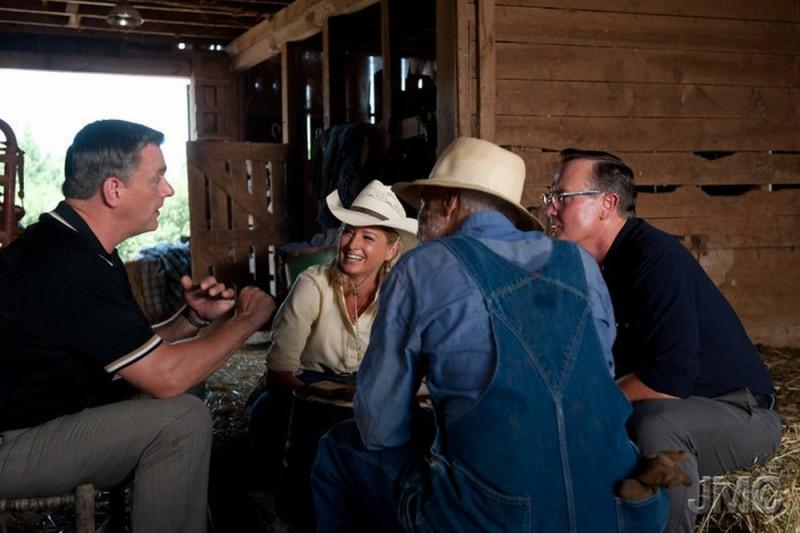 Jayne Mansfield's Car: una scena del film