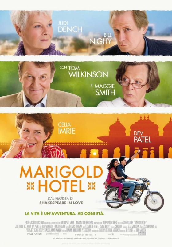 Marigold Hotel: la locandina italiana del film