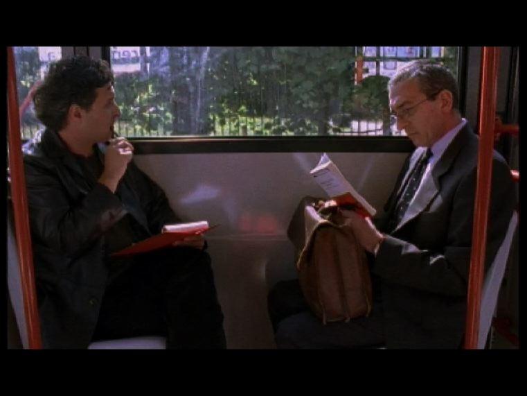 Massimo Berra e Gianni Munari nel cortometraggio Ultima immagine