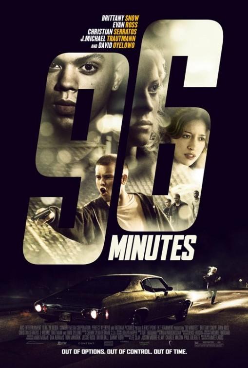 96 Minutes: la locandina del film