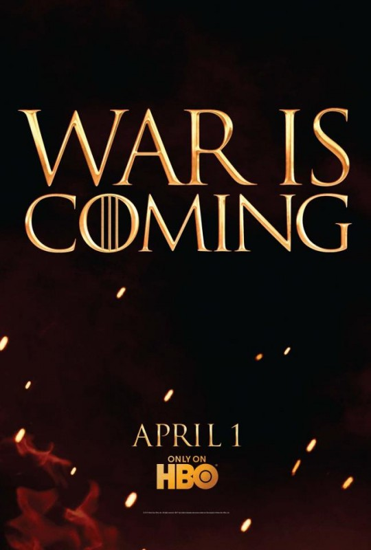 Game of Thrones: un primo teaser poster della stagione 2