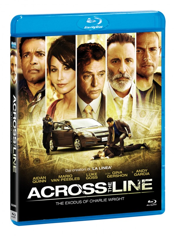 La copertina di Across the Line: The Exodus of Charlie Wright (blu-ray)