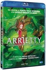 La copertina di Arrietty - Il mondo segreto sotto il pavimento (blu-ray)