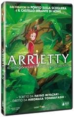 La copertina di Arrietty - Il mondo segreto sotto il pavimento (dvd)