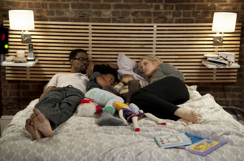 Chris Rock e Julie Delpy in un'immagine familiare di Two Days in New York