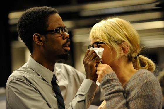 Chris Rock e Julie Delpy in una tenera immagine di Two Days in New York