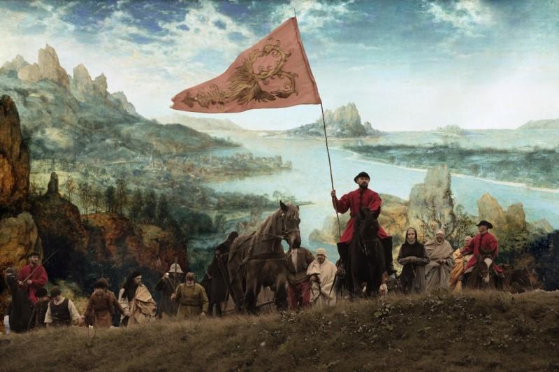 I colori della passione: una scena tratta dal film diretto da Lech Majewski