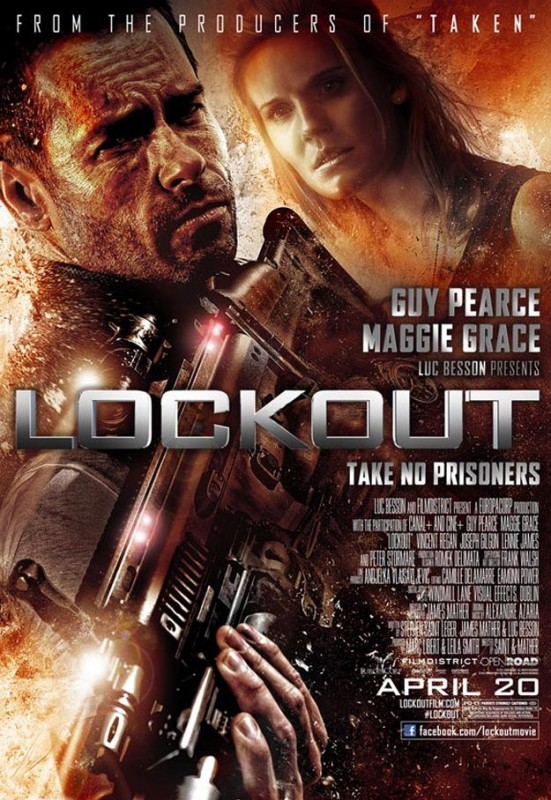 Lock-Out: la locandina del film