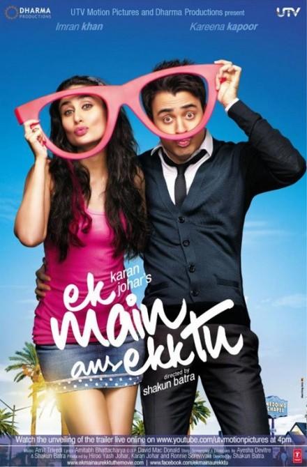 Ek Main Aur Ekk Tu: la locandina del film