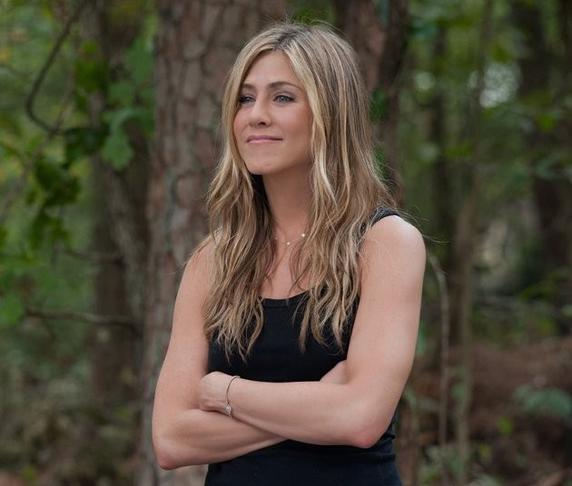 Jennifer Aniston 'nuda e felice' in Wanderlust, del 2012