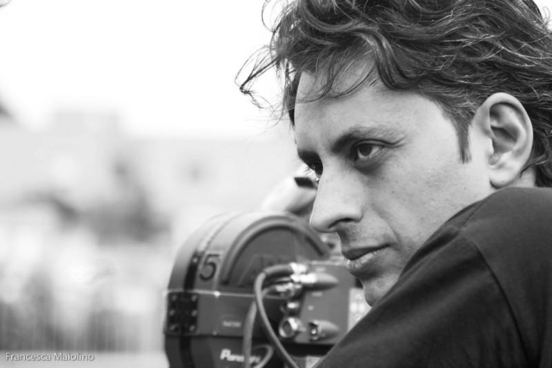 Massimo Coglitore sul set