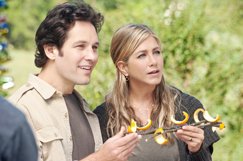 Paul Rudd e Jennifer Aniston in Nudi e Felici