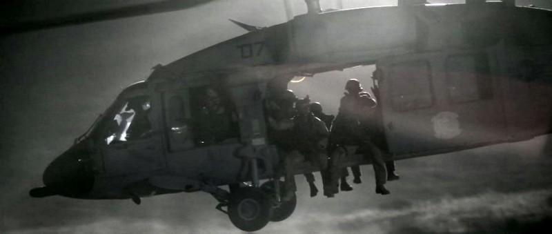 Una sequenza d'azione del film Act of Valor
