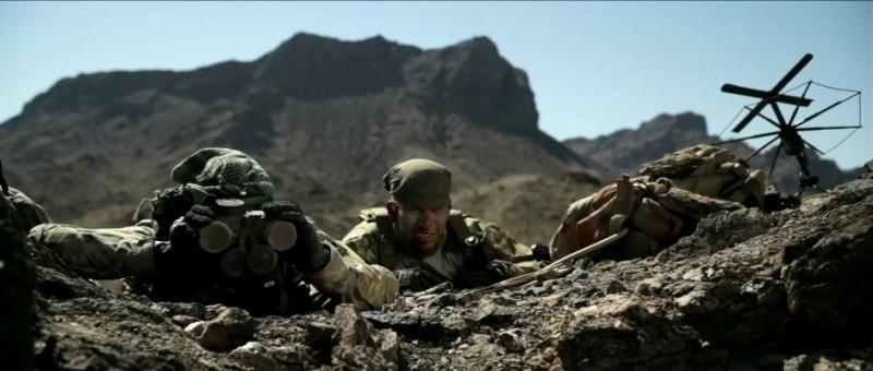 Una sequenza drammatica del film Act of Valor (2012)
